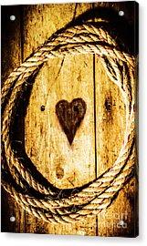 Ship Shape Heart Acrylic Print