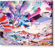 Ship Wreck Acrylic Print by HollyWood Creation By linda zanini