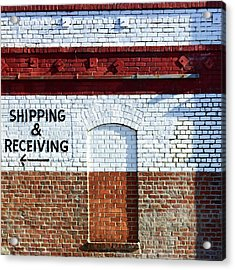 Shipping And Receiving  Acrylic Print