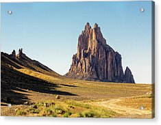 Shiprock 3 - North West New Mexico Acrylic Print