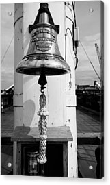 Ships Bell Uss Constitution Acrylic Print