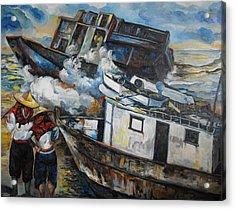 Ships Demise Acrylic Print