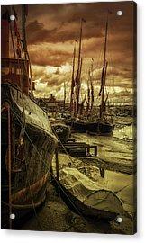 Ships From Essex Maldon Estuary Acrylic Print