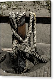 Acrylic Print featuring the photograph Shipwecked Rope by Fred Denner