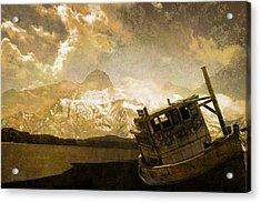Shipwreck - Reload Acrylic Print by Jeff Burgess