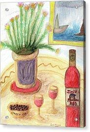 Shipwreck Cove  Acrylic Print