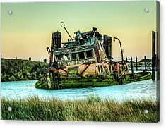 Shipwreck - Mary D. Hume Acrylic Print