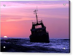Acrylic Print featuring the photograph Shipwreck by Riana Van Staden