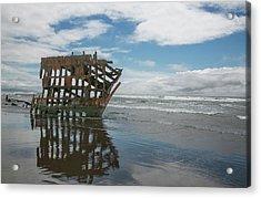 Acrylic Print featuring the photograph Shipwreck by Elvira Butler
