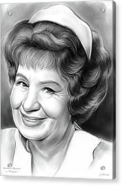 Shirley Booth Acrylic Print by Greg Joens