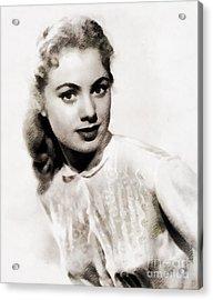 Shirley Jones, Vintage Actress Acrylic Print