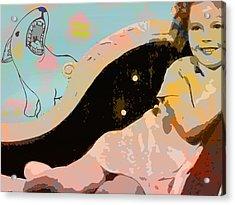 Shirley Pop Acrylic Print