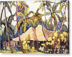 Shirley Russell Art Acrylic Print by Hawaiian Legacy Archive - Printscapes
