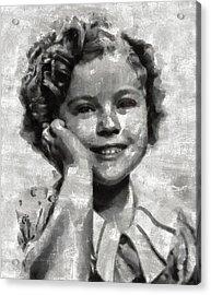 Shirley Temple By Mary Bassett Acrylic Print
