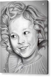 Shirley Temple Acrylic Print