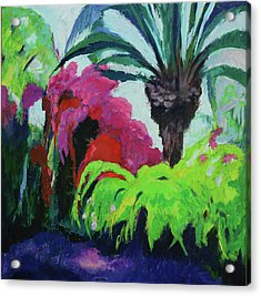 Shirley's Garden Acrylic Print
