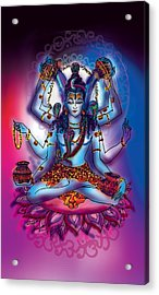 Shiva Abhishek  Acrylic Print