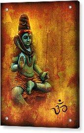 Shiva Hindu God Acrylic Print