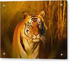 Shiva - Painting Acrylic Print