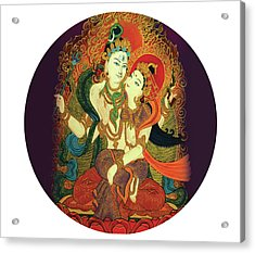 Shiva Shakti Acrylic Print