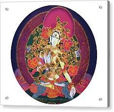 Shiva Shakti Yin And Yang Acrylic Print