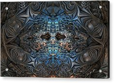 Shocking Detail Acrylic Print by Ricky Jarnagin