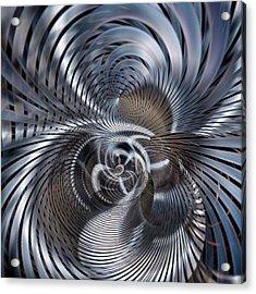 Shockwaves Acrylic Print by Philip Openshaw