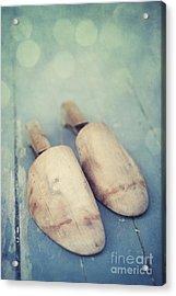 Shoe Trees Acrylic Print by Priska Wettstein