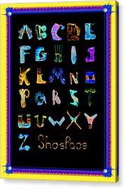 Shoeface Acrylic Print