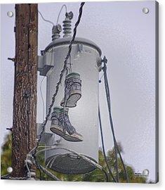 Shoefiti 10145 Acrylic Print