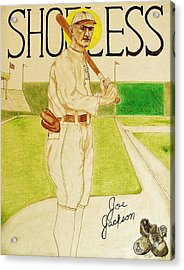 Shoeless Joe Jackson Acrylic Print by Rand Swift