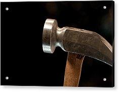 Shoemaker's Hammer Acrylic Print by Wilma  Birdwell