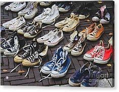Shoes At A Flea Market Acrylic Print