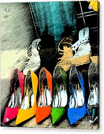 Shoes Acrylic Print by Gary Everson