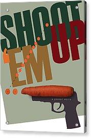 Shoot 'em Up Movie Poster Acrylic Print