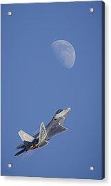 Shoot The Moon Acrylic Print by Adam Romanowicz