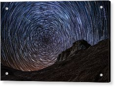 Shooting The Mines Acrylic Print by Darren  White