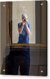 Shooting The Photographer Acrylic Print