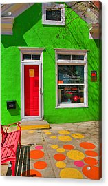 Shop Colors Acrylic Print by Steven Ainsworth