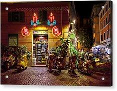 Shop In Rome Acrylic Print