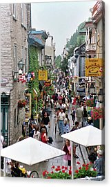 Acrylic Print featuring the photograph Shop Till One Drops by John Schneider