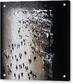 Shop Until You Drop Acrylic Print by Neil McBride