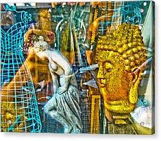 Shop Window 1 Acrylic Print by Dan McCarthy