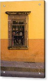 Shop Window San Miguel De Allende Acrylic Print