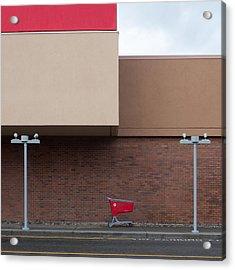 Shopping Cart Acrylic Print by Klaus Lenzen