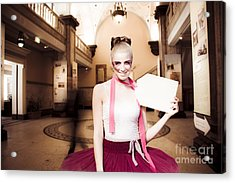Shopping Acrylic Print by Jorgo Photography - Wall Art Gallery