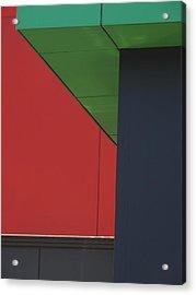 Shopping Strip Geometry Acrylic Print