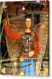 Shop's Angel Acrylic Print by Mexicolors Art Photography