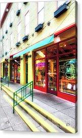 Shops At Cincinnati's Findlay Market # 7 Acrylic Print by Mel Steinhauer