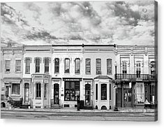 Acrylic Print featuring the photograph Shops by Mitch Cat
